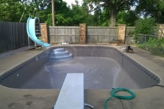 Swimming Pool Liner, Pool Slide and Diving Board