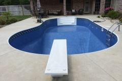 Replacement Liner with Diving Board and Steps
