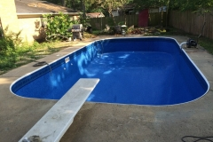 Replacement Liner with Diving Board