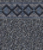 Cobalt Lake / Grey Mosaic